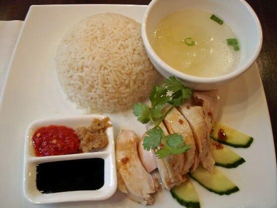 hainanese chicken rice - Hainanese Chicken Rice (Singapore Chicken Rice)