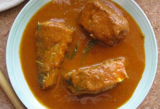 Nanjil Nattu Meen Kuzhambu (Nanjil Fish Curry)