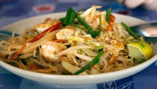 prawn pad thai - Prawn Pad Thai