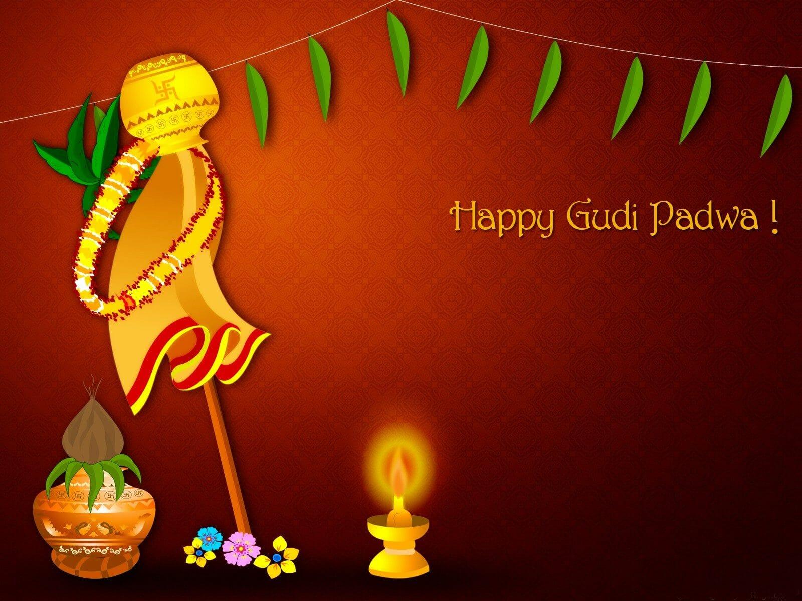 Happy Gudi Padwa (Happy Gowri Padwa)