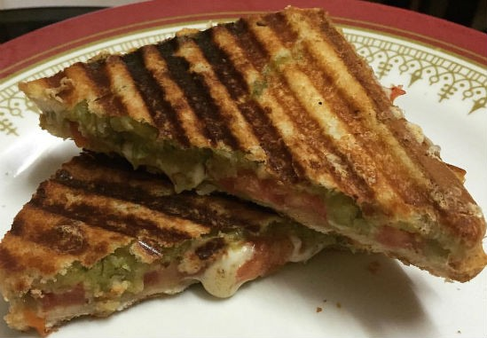 masala toast sandwich - Masala Toast Sandwich