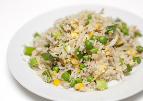 garlic egg fried rice - Garlic Egg Fried Rice