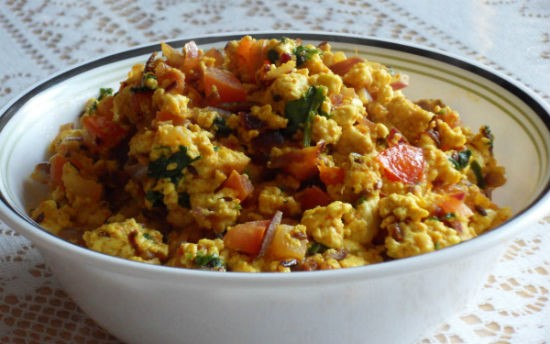 paneer podimas with eggs - Paneer Podimas with Eggs