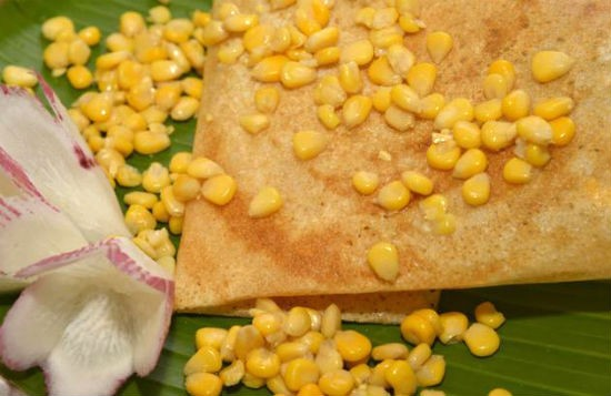 corn cheese dosa - Corn Cheese Dosa