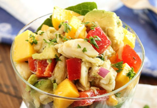 crab mango salad - Crab Mango Salad