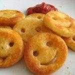 Smiley Face Potatoes (Homemade Potato Smiley)