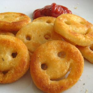 Smiley Face Potatoes (Homemade Potato Smiley)