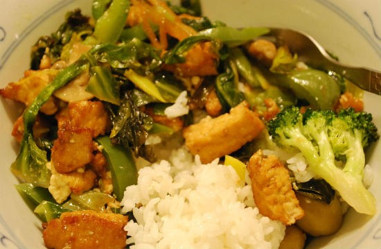 vegetable tofu stir fry - Vegetable Tofu Stir-Fry