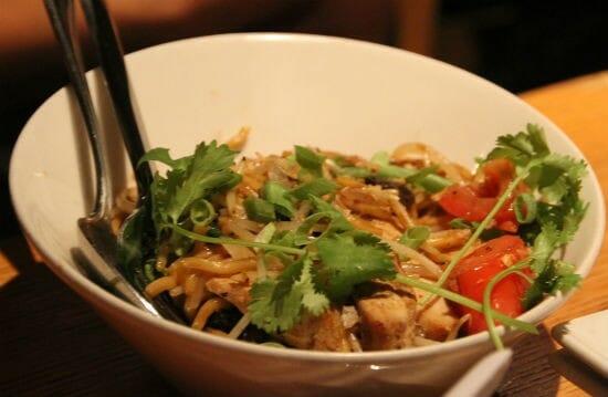 Garlic Noodles with Chicken