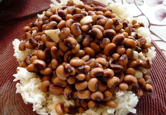 Karamani Rice (Black Eyed Peas Rice)