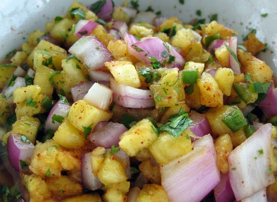 pineapple salsa - Pineapple Salsa