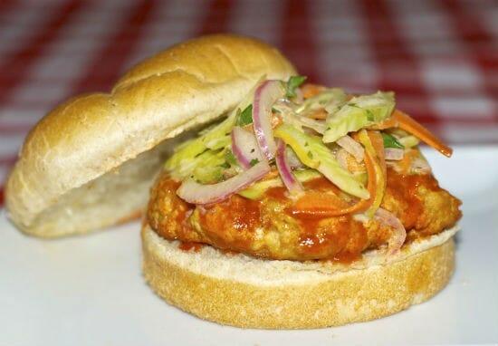 buffalo chicken burger - Buffalo Chicken Burger