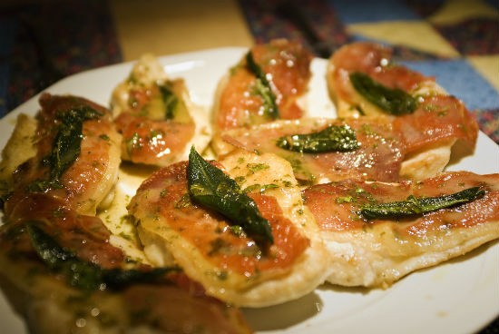 chicken saltimbocca - Chicken Saltimbocca