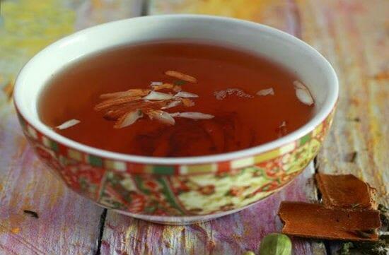 kashmiri kahwa tea - Kashmiri Kahwa Tea