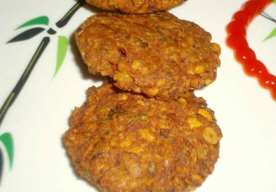mushroom vadai - காளான் பன்னீர் வடை