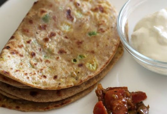 Sprouts Paratha