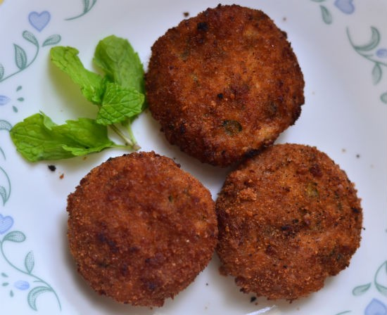 Varagu Vegetable Cutlet (Kodo Millet Vegetable Cutlet)