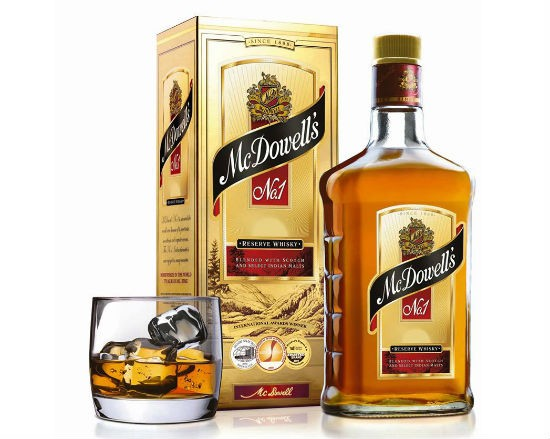 mcdowells no1 - India's 10 Most Popular Whiskey Brands
