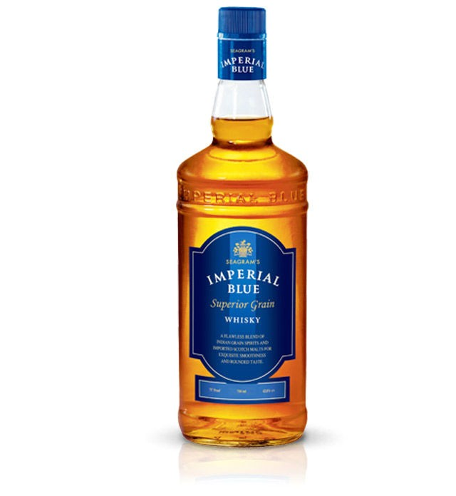 seagrams imperial blue - India's 10 Most Popular Whiskey Brands