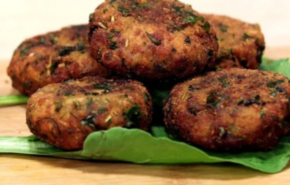 spinach potato cutlet - Spinach and Potato Cutlet