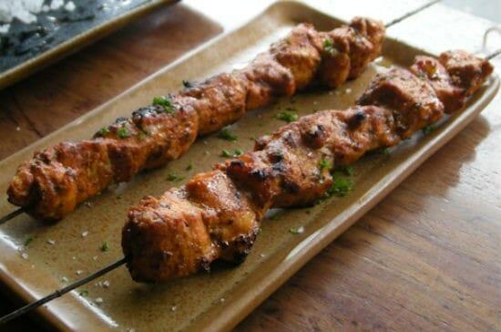 paprika chicken skewer - Paprika Chicken Skewers