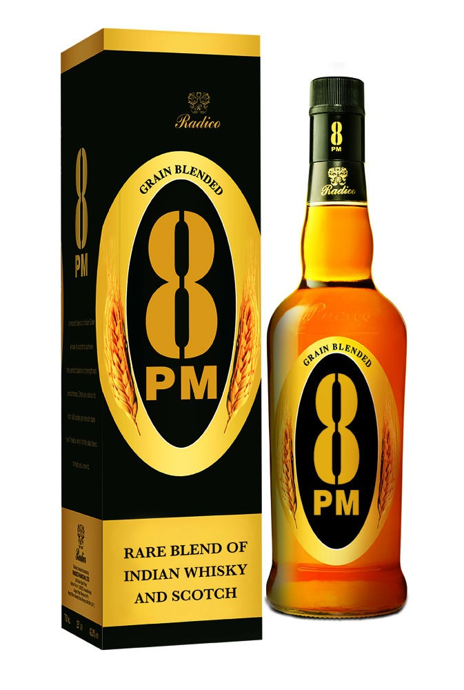8 pm whisky - India's 10 Most Popular Whiskey Brands