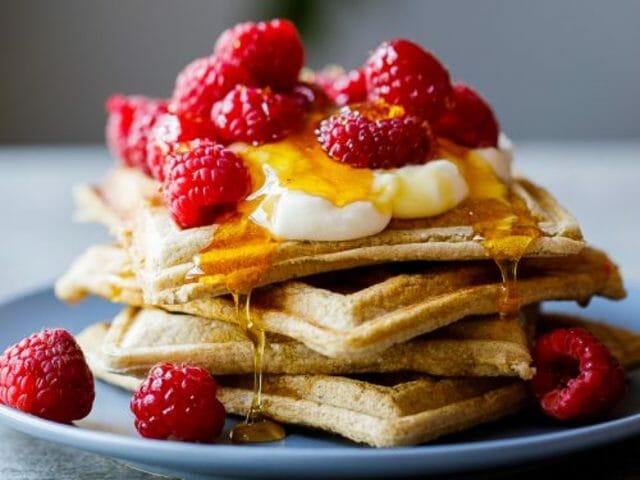Oats Waffles