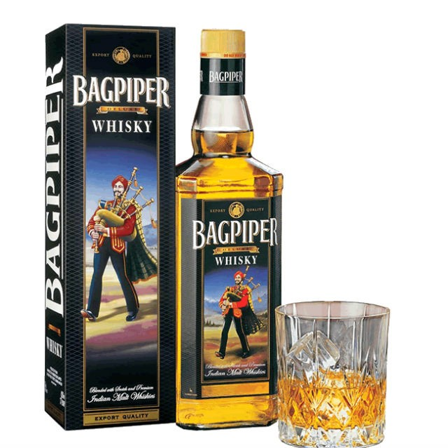 bagpiper whisky - India's 10 Most Popular Whiskey Brands