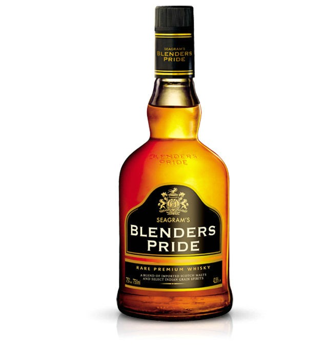 blenders pride - India's 10 Most Popular Whiskey Brands
