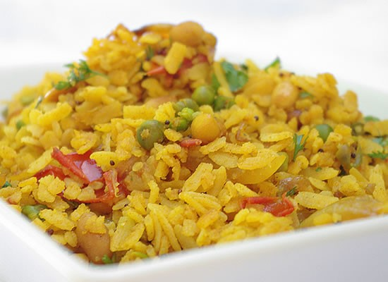 poha - How Are You Breaking Your Fast Today? Choose From Top 10 Breakfast Recipes