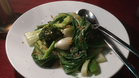 Stir Fried Exotic Greens