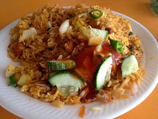 Chicken Nasi Goreng