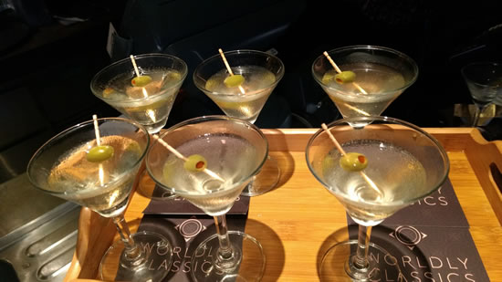 martini - When your Date is a Worldly Classics Cocktail!