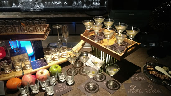 the great gatsby bar - When your Date is a Worldly Classics Cocktail!