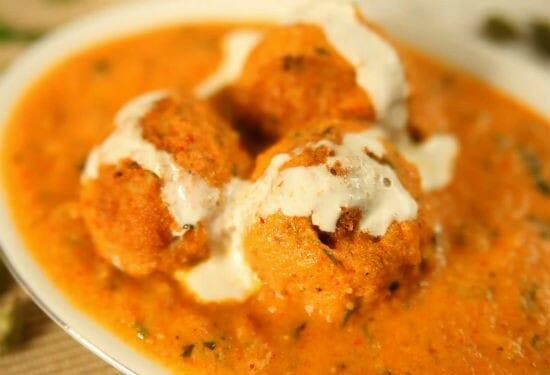 Paneer Gobi Kofta Curry