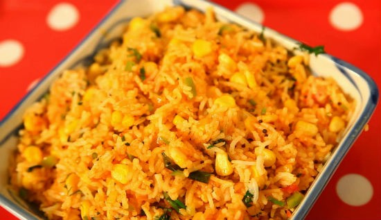 Quick Corn Rice