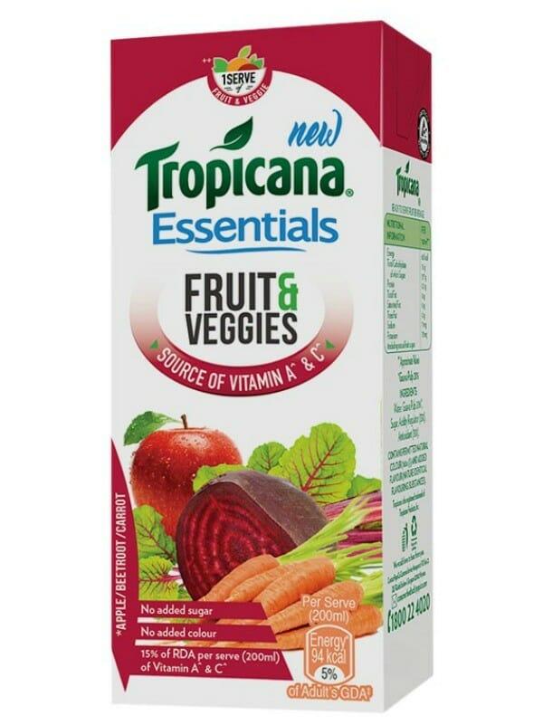 tropicana essentials - PepsiCo thinks Health!