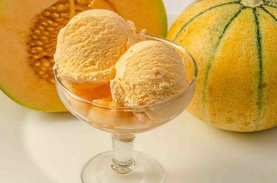 Musk Melon Ice Cream