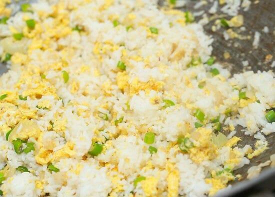 Scrambled Egg Rice