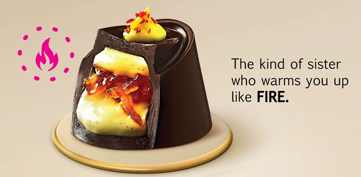 Fabelle Elements Fire - Weave the chocolate bond with your sister this Raksha Bandhan