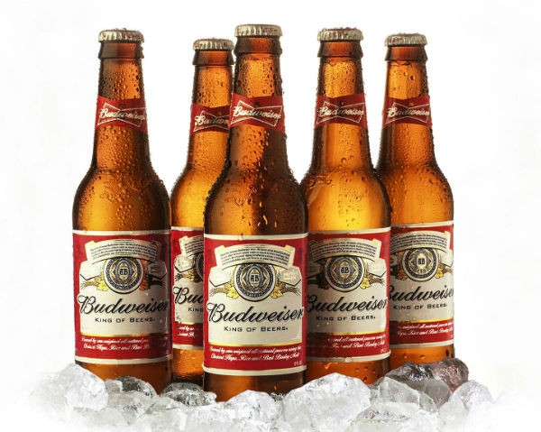 Budweiser - Top 10 Beers in India