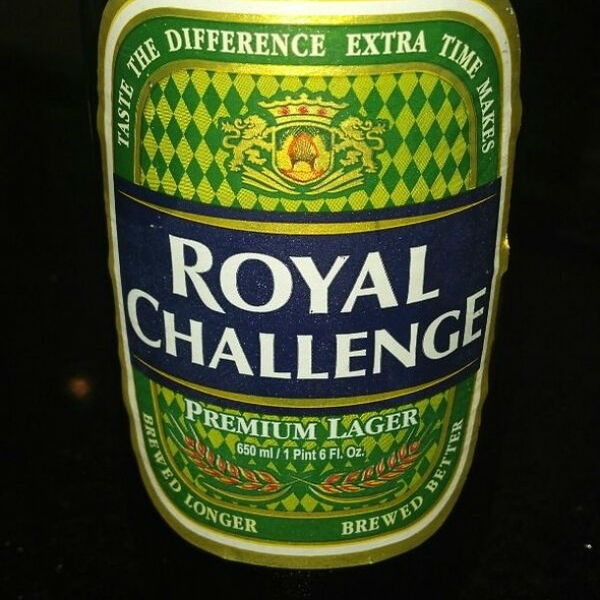 Royal Challenge Beer - Top 10 Beers in India