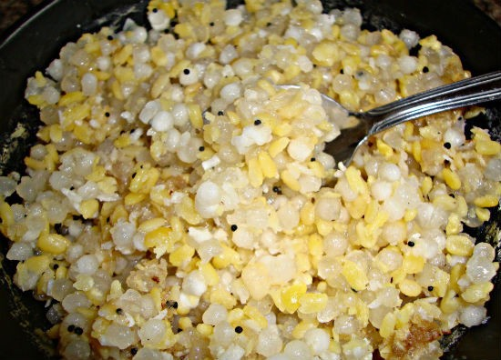 Sabudana (Javvarisi) Sundal Recipe