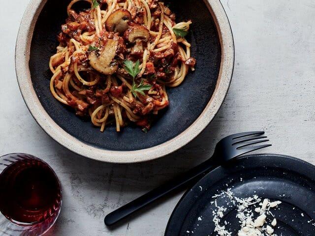 Mushroom Bolognese - Mushroom Bolognese