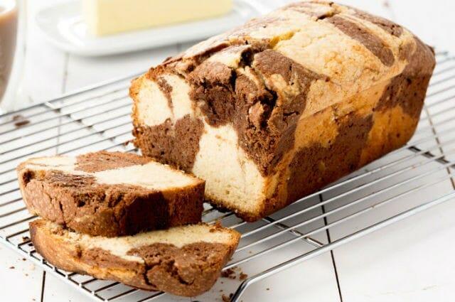 marble pound cake - Marble Pound Cake