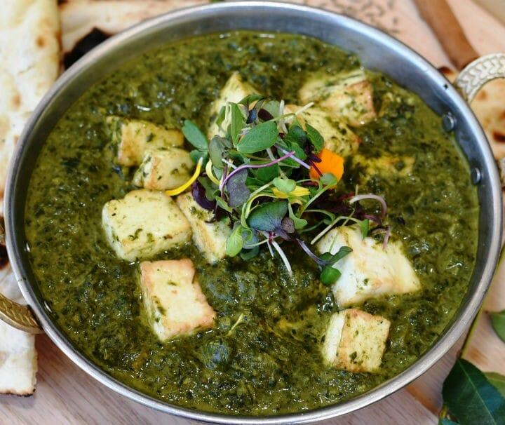 palak paneer - 10 Popular Indian Recipes This Winter