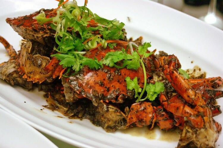 black pepper crabs - Black Pepper Crabs