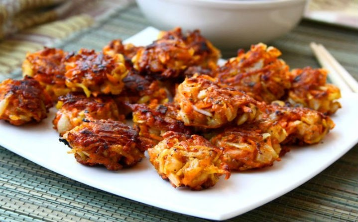 crispy vegetable fritters - Crispy Vegetable Fritters