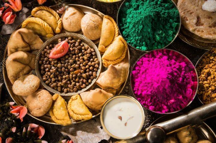 Holi Festival Food