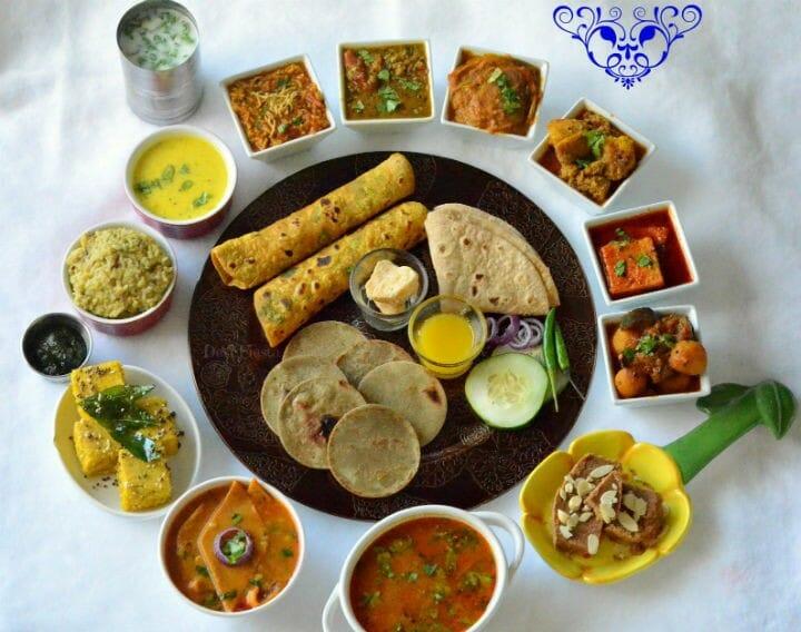 Kathiawadi Thali